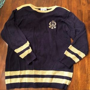 Alfred Dunner nautical sweater